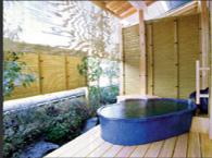 316号室の露天風呂