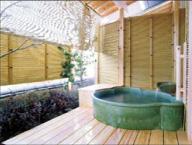 317号室の露天風呂