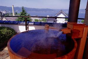 芦の間露天風呂