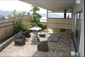 芦の間中庭